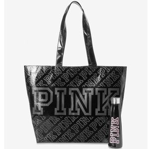 VS Pink S'WELL WATER BOTTLE AND REUSABLE TOTE BAG